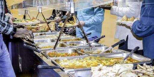 Vegan Indian Buffet Dinner (All-You-Can-Eat)