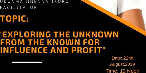 Exploring The Unknown From the Known for Influence and Profit
