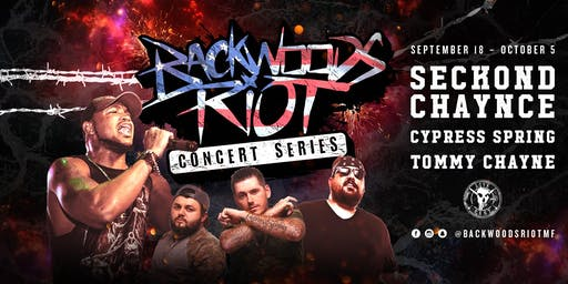Backwoods Riot Concert Series at Live Fast Studios