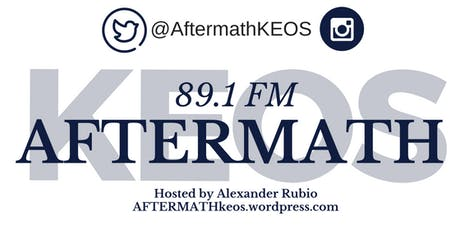 AFTERMATH Radio Show Fall 2019 Semester tickets