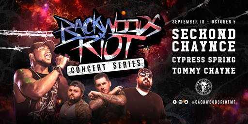 Backwoods Riot Concert Series in Odessa, TX