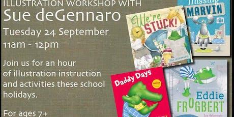 Illustration Workshop with Sue deGennaro tickets