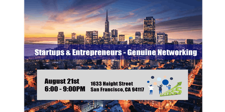 Bay Area Startup & Entrepreneurs - Networking Social Mixer tickets