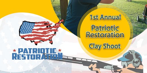 1st Annual Clay Shoot tournament
