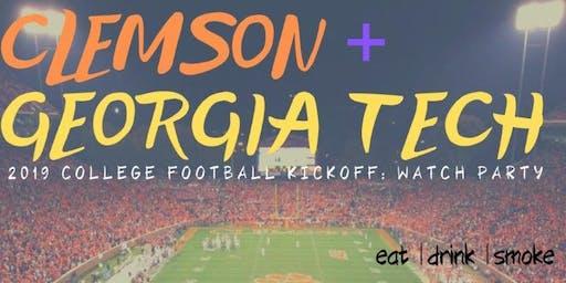 CLEMSON vs. GEORGIA TECH College Football Kickoff Watch Party