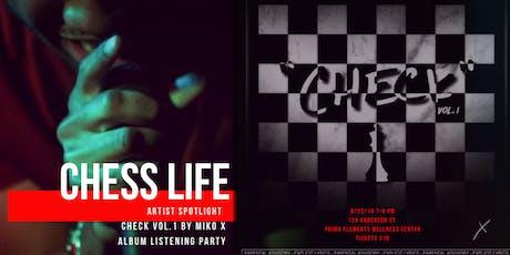 Chess Life Artist Spotlight- Miko X tickets