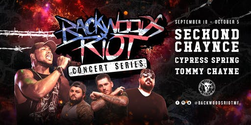 Backwoods Riot Concert Series in Jackson, MS