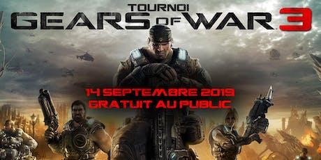 Gears of war 3 - Tournoi  billets