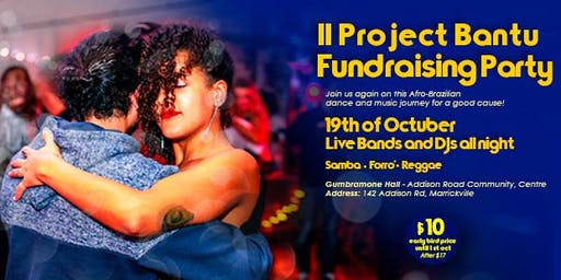 II Bantu Project Fundraising Party