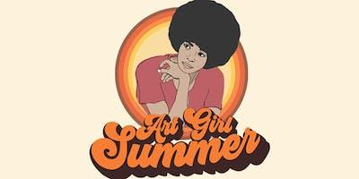 ART GIRL SUMMER: a pop-up showcase + marketplace