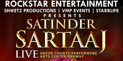 SATINDER SARTAAJ LIVE IN CONCERT in New Jersey on September 8th, 2019