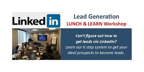 LEAD GENERATION using LinkedIn tickets