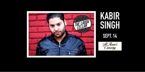 Comedian Kabir Singh - St. Anne's Crossing Winery