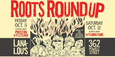 Roots Round Up with special guests Preston & Fletcher tickets