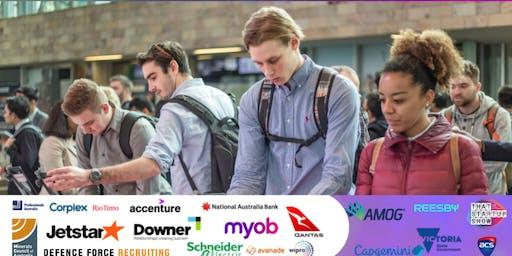 Volunteer at the Tech Jobs Expo 2019 (NAB, Defence Force,Qantas)