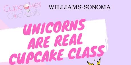 Unicorn Cupcake Decorating Class tickets
