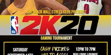SCSU Black Wall Street Club's NBA 2K20 Gaming Tournament tickets