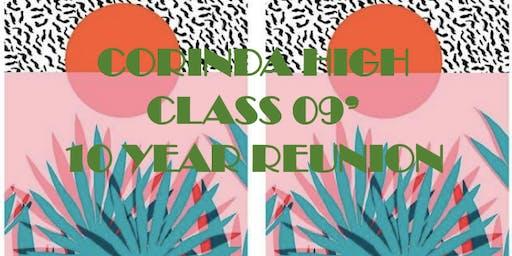 09 Corinda High 10yr Reunion
