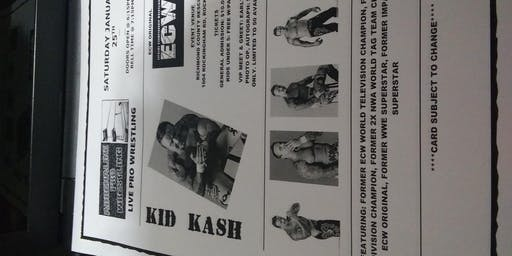 Adrenaline Pro Wrestling Featuring ECW Original Kid Kash