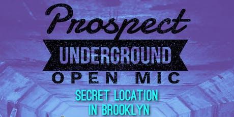 Prospect Underground Open Mic (September) tickets