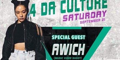 4Da Culture(Awich MV/Live) Event