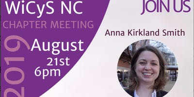 NC WiCyS August Chapter Meeting Invite