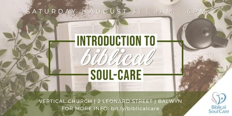 Biblical Soul Care Training tickets