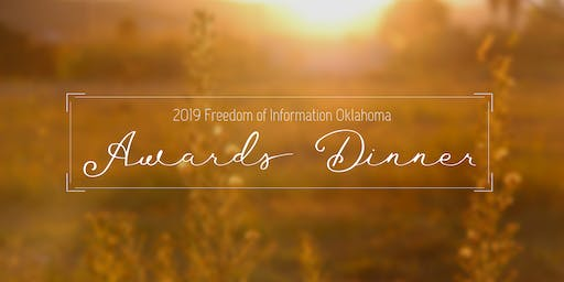 2019 FOI Oklahoma Awards Dinner