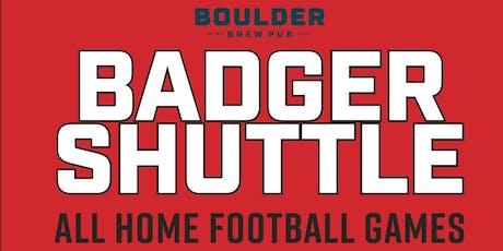 Badger Football Shuttle tickets