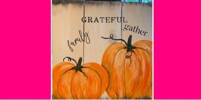 Fall Pumpkins/Wooden Plank @ Chances Casino