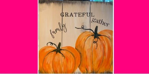 Fall Pumpkins/Wooden Plank @ Chances Casino