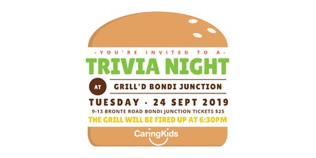 Trivia Night - CaringKids Charity tickets