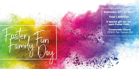 Foster Family Fun Day tickets