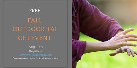 Fall Outdoor Tai Chi Event tickets