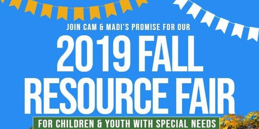 Cam & Madi's Promise Fall Resource Fair