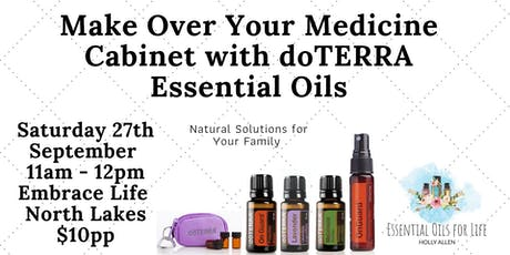 Make Over Your Medicine Cabinet with doTERRA tickets