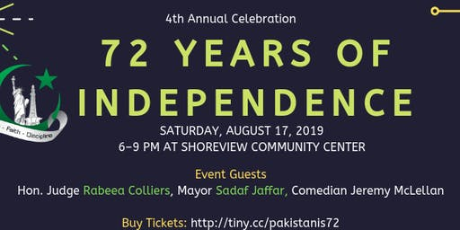 Pakistan Independence Day Dinner