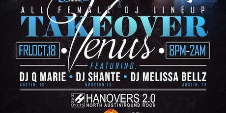 Venus Takeover ~ All Female DJ Lineup | 10.18 tickets