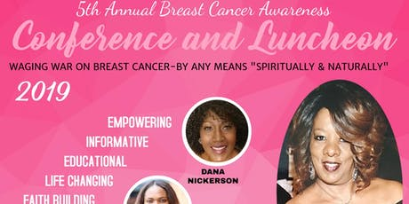 5th Annual Breast Cancer Awareness Conference and Luncheon tickets