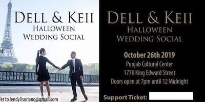 Dell & Keii Wedding Social Halloween Theme