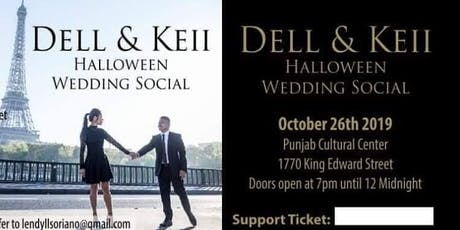 Dell & Keii Wedding Social Halloween Theme tickets