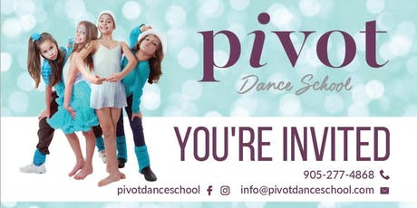 FREE Kids Dance Classes in MISSISSAUGA - Appreciation Event! tickets