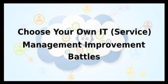 Choose Your Own IT (Service) Management Improvement Battles 4 Days Training in Antwerp