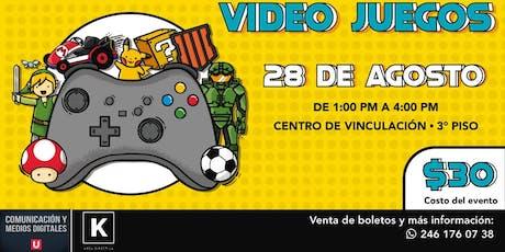 Convivencia de Videojuegos by Kernel (1.0) boletos