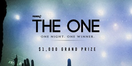 The One: $1,000 Competiton tickets