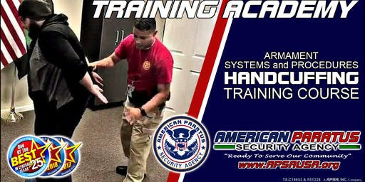 Killeen, TX / ASP Basic Handcuffing Training Course