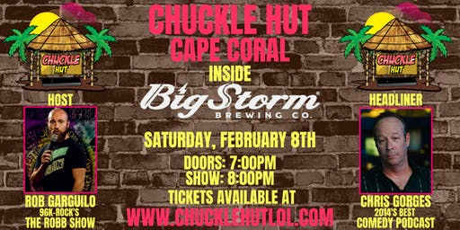 Chuckle Hut Comedy Show - Cape Coral (Big Storm Brewing Company)