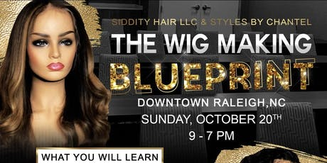 The Wig Making Blueprint tickets