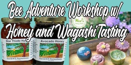 Wen's Baking Studio Presents - Wagashi & Honey tickets