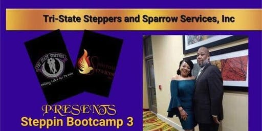 Chicago Stepping Bootcamp & Stepping Set